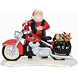 Department 56 Originial Snow Village Santa's New Sleigh is A Harely Village Accessory, 3.39-Inch