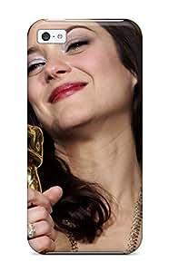 Tpu DeirdreAmaya Shockproof Scratcheproof Marion Cotillard Celebritiess Hard Case Cover For Iphone 5c