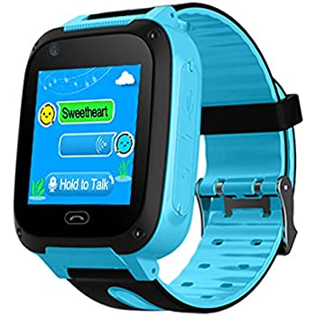 Amazon.com: B.B.PAW Reloj inteligente para niños, reloj ...