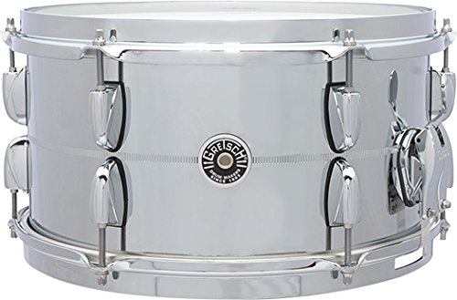 Gretsch Drums Chrome Over Steel Shell Snares GB-4163S B0793RPSYT