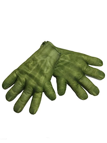 Rubie's Men's Avengers 2 Age Of Ultron Adult Hulk Gloves, Avengers: Age of Ultron, Hands -