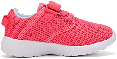 DADAWEN Boys Girls Casual Light Weight Breathable Strap Sneakers Running Shoe 10069B