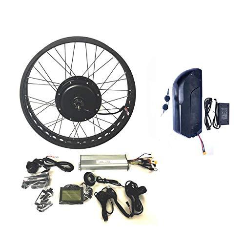 theebikemotor 48V1500W Hub Motor 18AH Samsung 35E Cell Li-on Ebike Batería Bicicleta ELÉCTRICA Kit DE CONVERSIÓN 4.0 Fat…