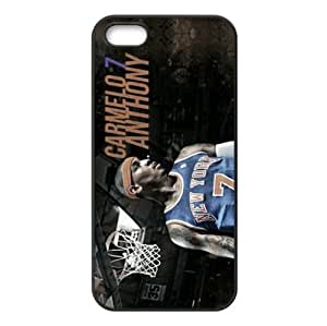 Cool iPhone 5s TPU Cover Case with New York Knicks Carmelo Anthony Image Background Design-by Allthingsbasketball