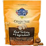 Multi-Pack -Nature's Recipe Grain Free Dog Biscuits Turkey and Sweet Potato - (3 Packages)