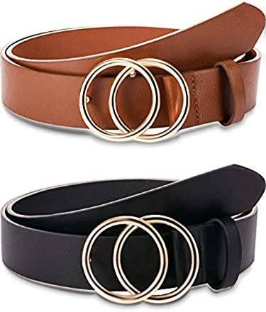 Pieces Women Leather Double Buckle product image