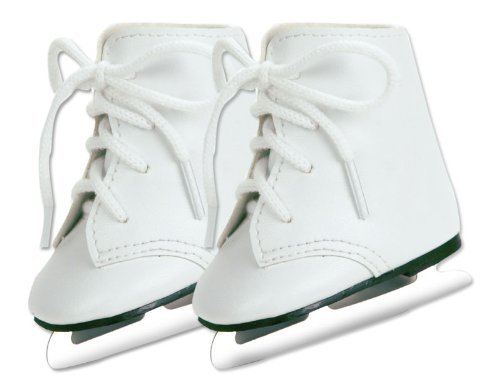 Doll Ice Skates, Fits 18 Inch American Girl - Skates Ice Girl American