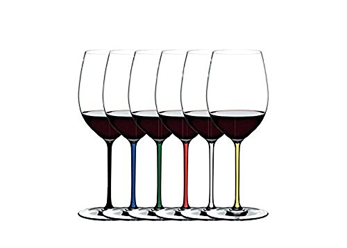 Riedel Fatto A Mano Cabernet/Merlot Gift Set, Set of 6 Assorted by Riedel