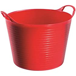 Tubtrugs SP14R 3.5-Gallon Storage Bucket, Red