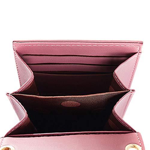 Hobo Sac pour à Crossbody Rétro Bandoulière Sac en Porte Mini TM Monnaie Portefeuille Epaule Main Jipai Pochette 4 à Cuir Bordeaux Sac pour Porté Femme Bags Téléphone Pzw5xH