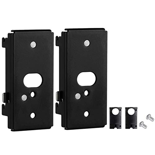 Pack of 2 Black Wall Mount Bracket for Bose SlideConnect WB-50 (UFS-20),soundtouch 300 soundtouch 520,CineMate 520,Lifestyle 525 535 III,Lifestyle 600