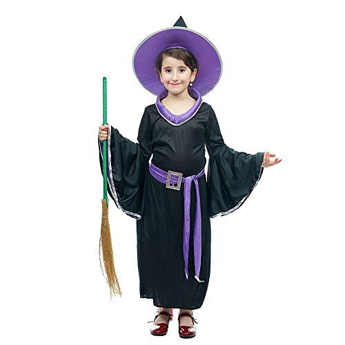 [Incantasia the Glamour Witch Child Costume (4-6Years, Purple)] (Glamour Witch)