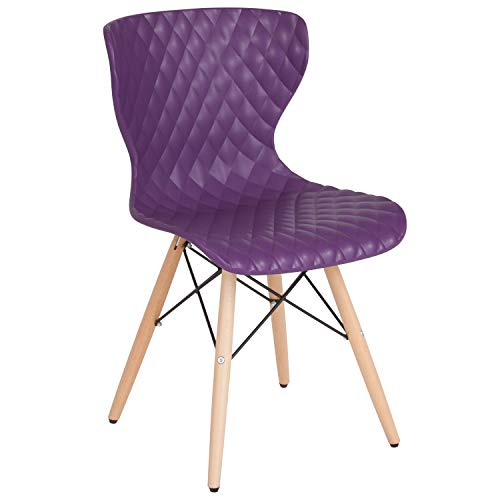 Flash Furniture LF-7-07-PUR-GG Home & Office Chairs Purple