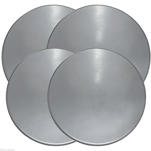 d Electric Kitchen Stove Range Top Burner Covers Set of 4 (Round Electric Burner)