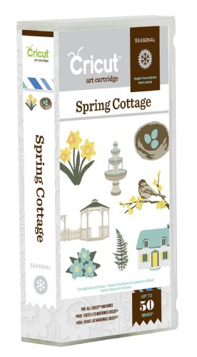 Cricut Spring Cottage Card Making Cartridge