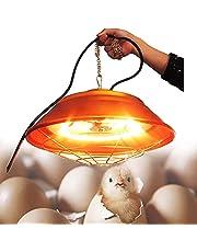 Lampa grzewcza na podczerwie dla drobiu, lampa grzewcza dla pisklt, lampa grzewcza halogenowa z termostatem i przewodem zasilajcym do gospodarstwa hodowlanego/rodziny