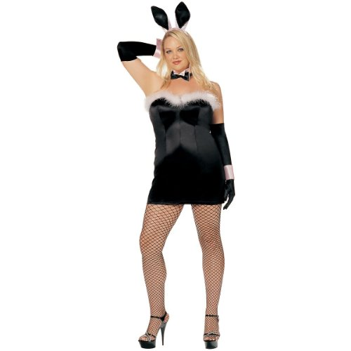 Hippity Hop Plus Size Adult Costume - Plus Size 3X/4X (Costume Shirley Hollywood Of Mini)