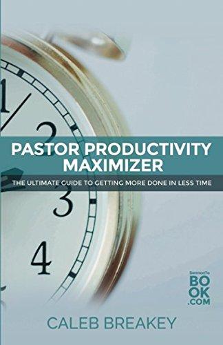 Pastor Productivity Maximizer Leadership Administration product image