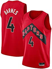 Scottie Barnes Toronto Raptors Red Icon Edition Swingman Jersey, Men's Je
