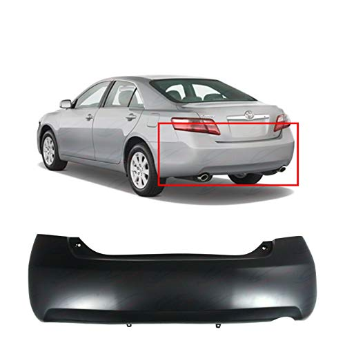 Primed Rear Bumper Cover For 2007-2011 Toyota Camry Base LE XLE CE 5215906950