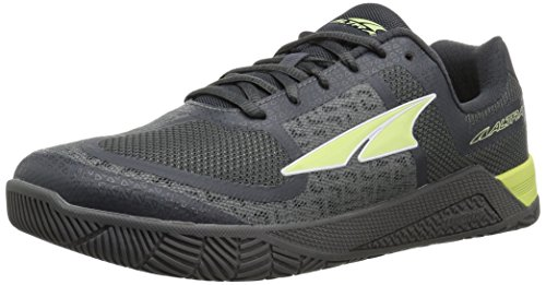 Altra Women's HIIT XT Cross-Training Shoe, Gray/Lime, 8 by Altra