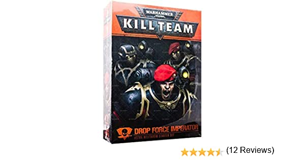 Games Workshop Kill Team: Drop Force Imperator Astra Militarum Starter (inglés): Amazon.es: Juguetes y juegos