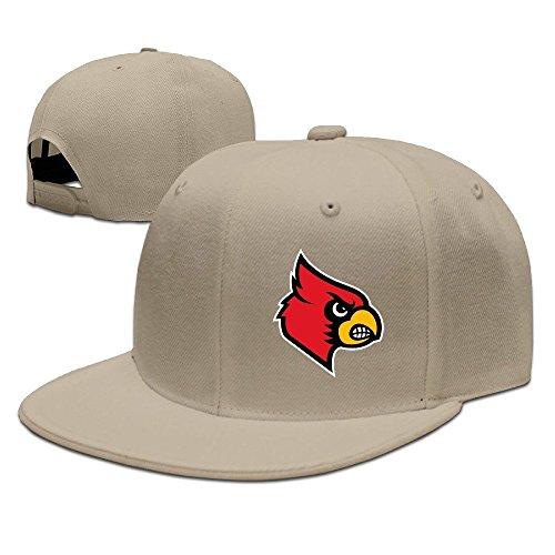 SSEE Unisex-Adult University of Louisville Cardinals Snapback Baseball Hats Caps -