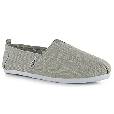 Amazon.com | SoulCal Mens Long Beach Canvas Slip On Shoes Summer  Lightweight Casual Footwear | Fashion Sneakers
