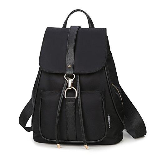 niña de la mochila de nylon/mochila/Las señoras ocasionales versátil bolsa de viaje-B A