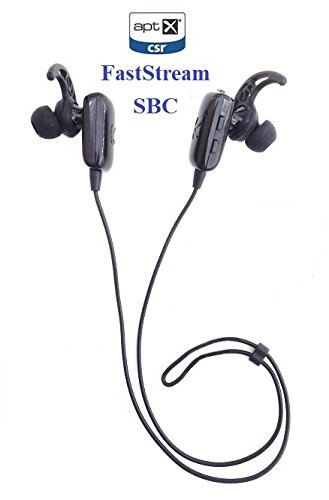 KOKKIA Marathons_3codecs : Bluetooth Stereo Headset with 3 codecs (SBC, aptX, FastStream). Perfect for Bluetooth iPhones,iPads/iPods and Other Bluetooth Stereo Sources.