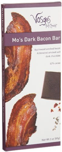 Vosges Haut-Chocolat, Mo's Dark Bacon Bar, 3 oz