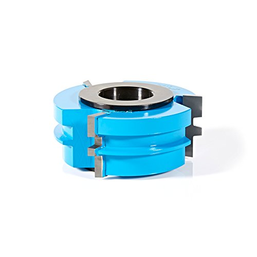 Amana Tool SC617 Carbide Tipped 3-Wing Glue Joint 2-13/16 D x 1-3/16 CH x 1 & 1-1/4 Bore Shaper Cutter