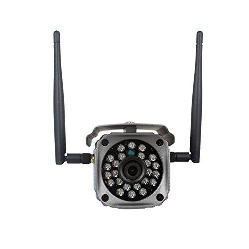 Telecamera di Sicurezza IP Wifi Camera Senza Fili, 720P HD Wireless Webcam, Videocamera Sicurezza con Audio a Due Vie? IR-CUT, Sensore di Movimento, per IOS, Android o PC