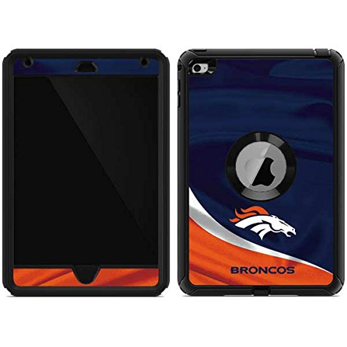 Skinit Denver Broncos OtterBox Defender iPad Mini 4 Skin for CASE - Officially Licensed NFL Skin for Popular Cases Decal - Ultra Thin, Lightweight Vinyl Decal Protection