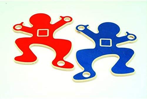 Kraxl Parcours der Sinne Logo Großspiel Material