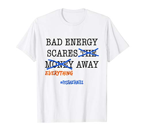 No Bad energy shirt : made to match Jordan 10 tinker