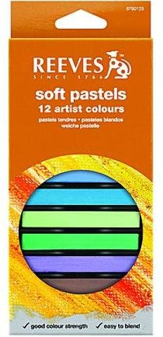 Reeves Soft Pastel Sets (Set of 12) 2 pcs sku# 1826526MA