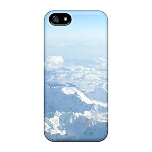 New Arrival Premium 5/5s Case Cover For Iphone (white Peaks)