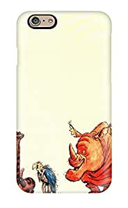 Tpu DanRobertse Shockproof Scratcheproof The Jungle Book Drawing Animals Animal Humor Hard Case Cover For Iphone 6(3D PC Soft Case)