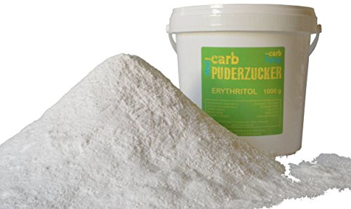 -carb Puderzucker Erythritol, 750 g