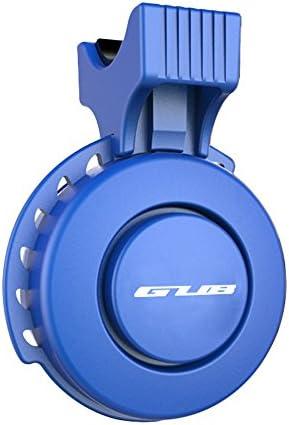 防水 電動 自転車サイクリング用 ミニベル usb充電式 口笛アラームホーン ブルー