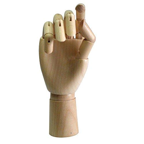 木製 デッサン モデル 美術 デッサン 多彩 な ポーズ を 演出 インテリア 可動式 モデル スケッチ デッサン (右手 女性)