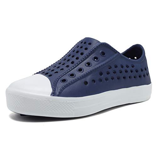 Seannel Kids Slip-On Sneaker LightweightBreathable Sandal Water Shoes Outdoor & Indoor-U819STLXS001-Blue-24 ()