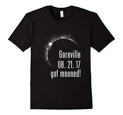 GOREVILLE Solar Eclipse Souvenir Got Mooned Funny T Shirt