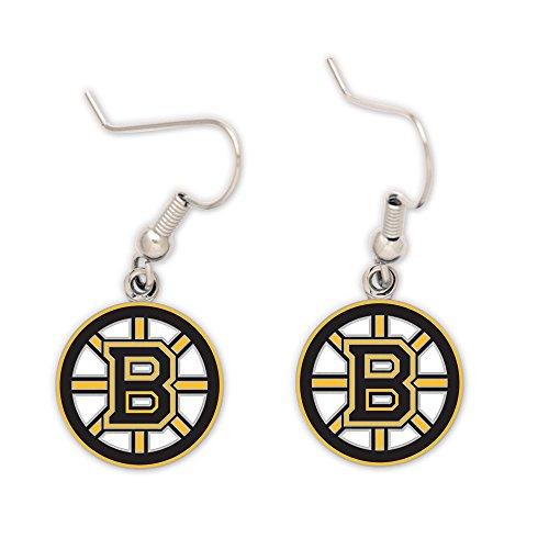 WinCraft NHL Boston Bruins 33998010 Earrings Jewelry Card (Bruins Card Nhl Boston)