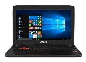"""ASUS GL502VM-FY164T - Portátil de 15.6""""  Full-HD (Intel Core i7-7700HQ, RAM de 16 GB, 1000 GB HDD, SSD de 128 GB, NVIDIA GeForce GTX 1060 de 6 GB, Windows 10) plástico negro - Teclado QWERTY Español"""