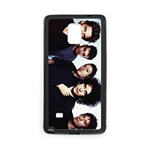 Samsung Galaxy Note 4 Cell Phone Case Covers Black The Cure W7U7H