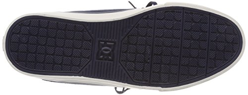 DC Men's Heathrow Vulc Tx Trainers, Dark Blue Blue (Navy Nvy)