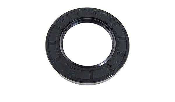 Goma 45 mm x 72 mm x 10 mm métricas labio TC sello de aceite