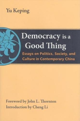democracy is a good thing - 1